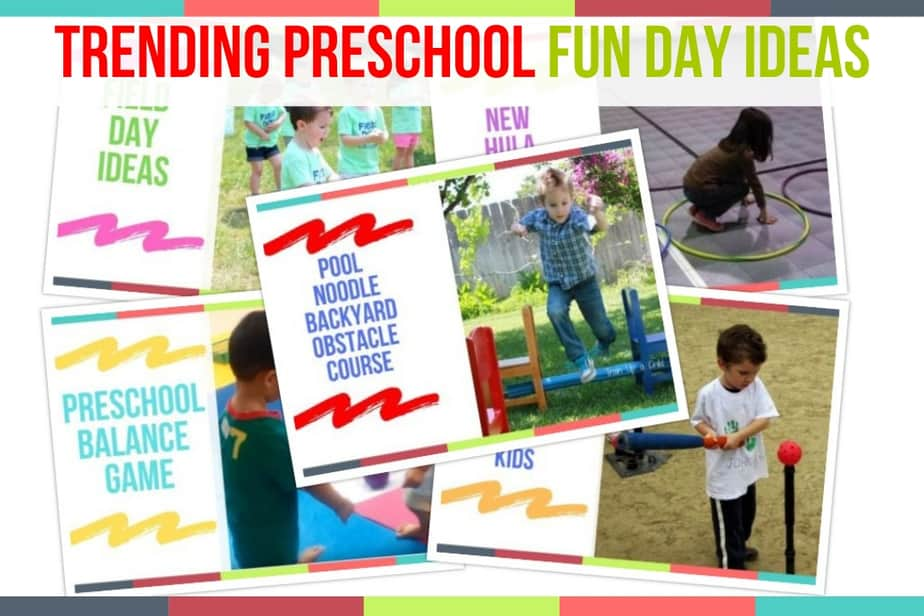 Trending Preschool Fun Day Ideas Preschool Home Activities