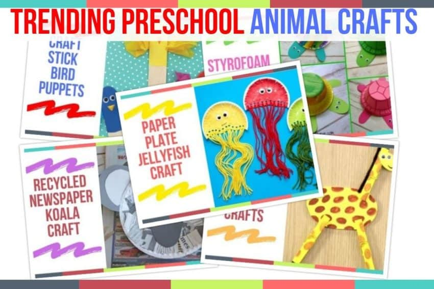 Trending Preschool Animal Crafts Preschool Home Activities