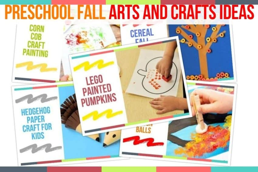 Preschool Fall Arts And Crafts Ideas Preschool Home Activities