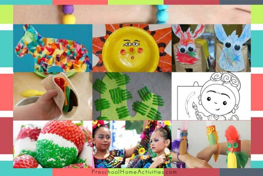 featured Cinco De Mayo Toddler Crafts