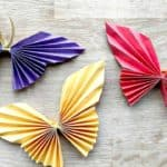 Cute and Easy DIY Paper Butterfly for Preschoolers