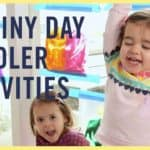 Fun Activities To Do With Your Preschooler On A Rainy Day