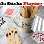 Preschool Popsicle Playing Cards