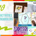 10 Shapes Activities for Preschoolers
