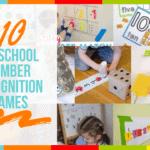 10 Preschool Number Recognition Games
