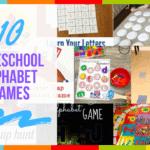 10 Preschool Alphabet Games