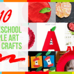 10 Preschool Apple Art and Crafts