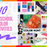 10 Preschool Color Activities