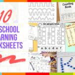 10 Preschool Learning Worksheets
