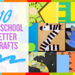 10 Preschool Letter Crafts