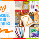 10 Preschool Math Activities