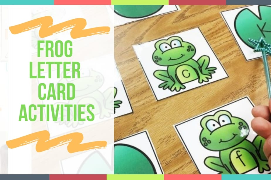 Frog Letter Card Activities