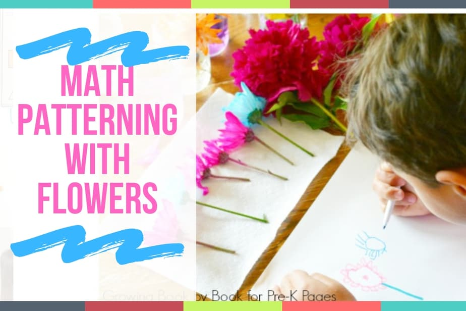 Math Patterning with Flowers