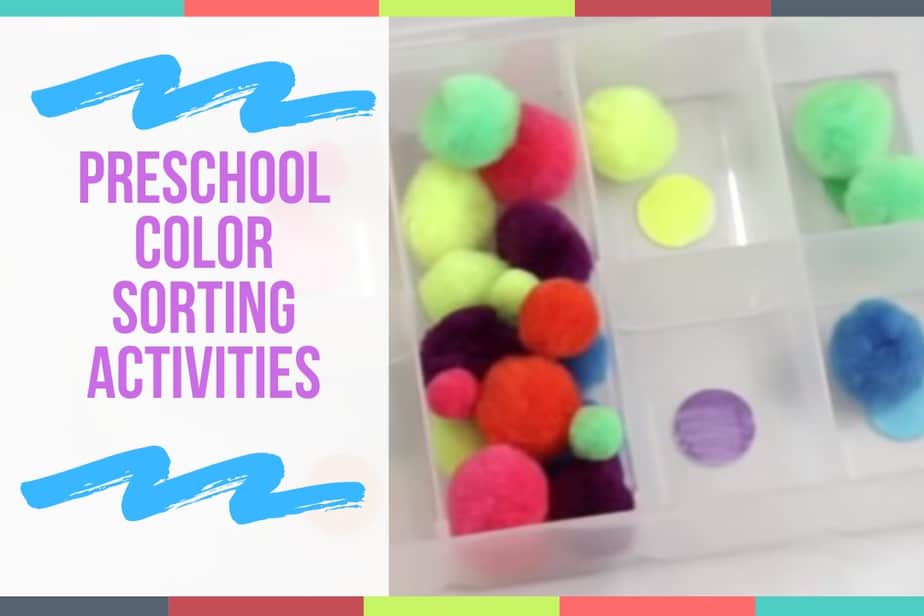 Preschool Color Sorting Activities