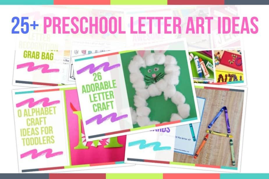 Preschoo Letter Art Ideas