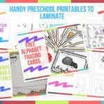 Handy Preschool Printables to Laminate