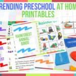 Trending Preschool At Home Printables