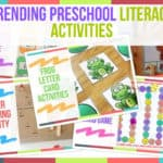 Trending Preschool Literacy Activities