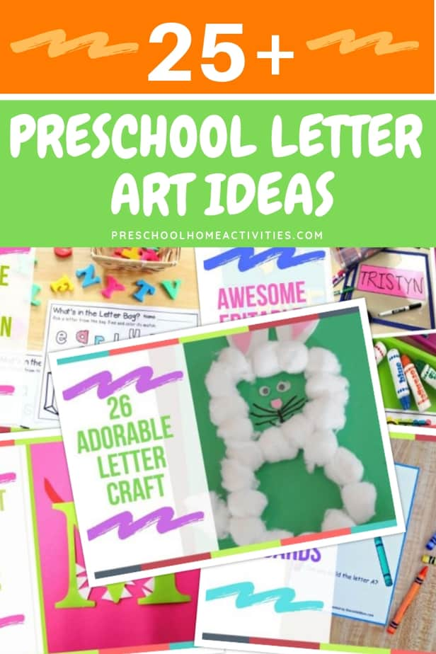 Preschool Letter Art Ideas