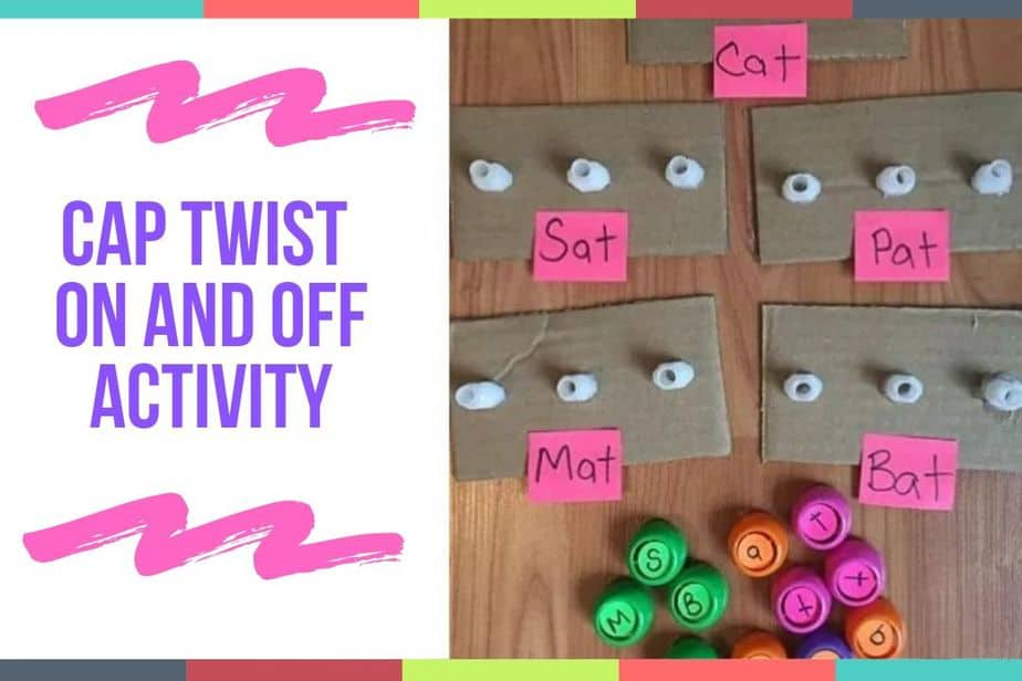 Cap Twist On And Off Activity