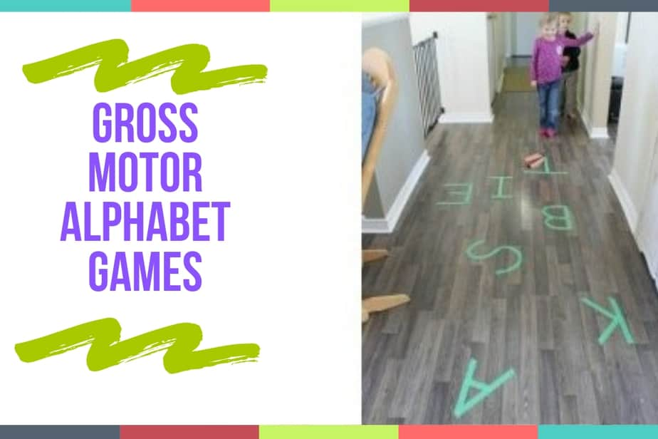 Gross Motor Alphabet Games