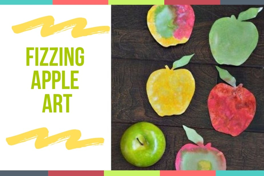 Fizzing Apple Art