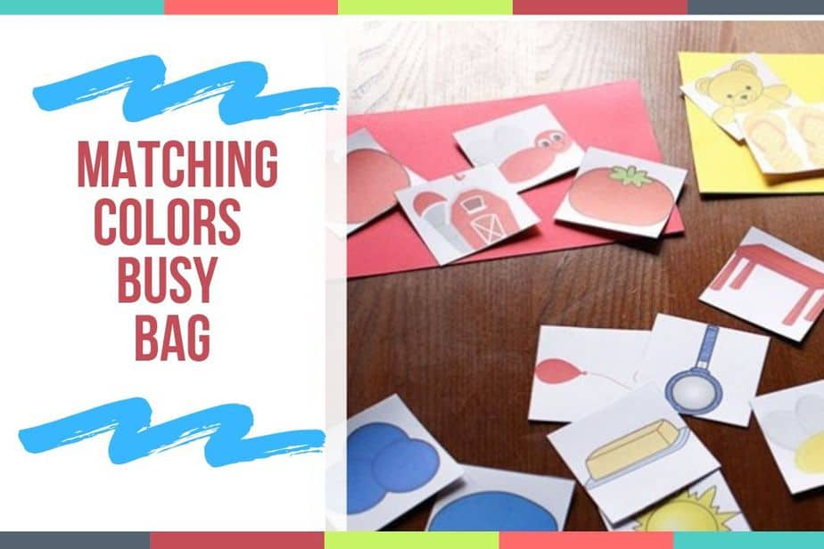 Matching Colors Busy Bag