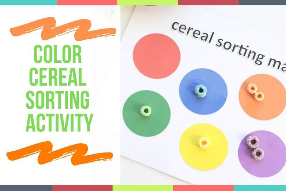 Color Cereal Sorting Activity