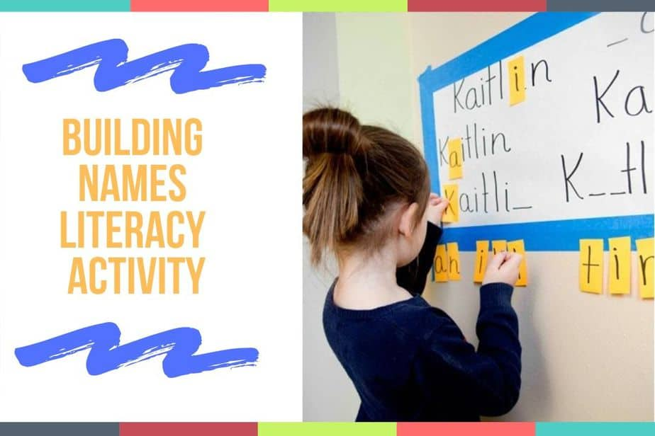 Building Names Literacy Activity