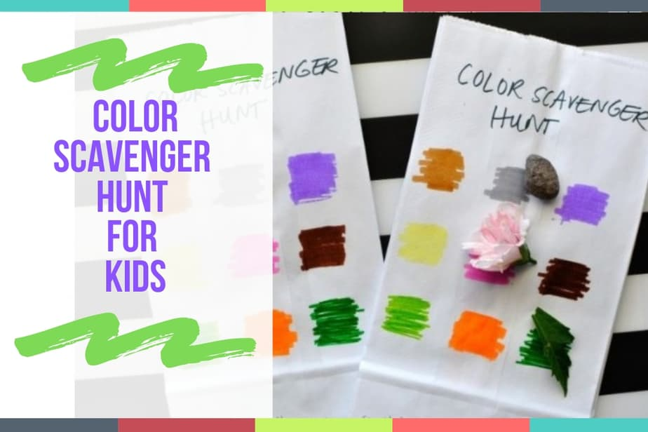 Color Scavenger Hunt For Kids
