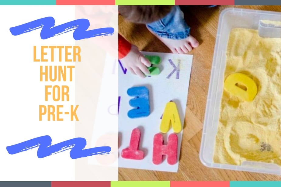 Letter Hunt For Pre-K