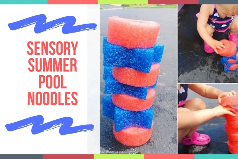 Sensory Summer Pool Noodles
