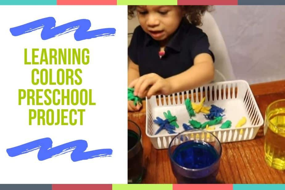 Learning Colors Preschool Project