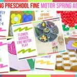 Trending Preschool Fine Motor Spring Activities
