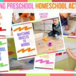 Trending Preschool Homeschool Activities
