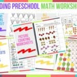 Trending Preschool Math Worksheets