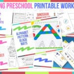 Trending Preschool Printable Worksheets