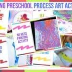 Trending Preschool Process Art Activities
