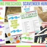 Trending Preschool Scavenger Hunt Ideas