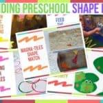 Trending Preschool Shape Ideas