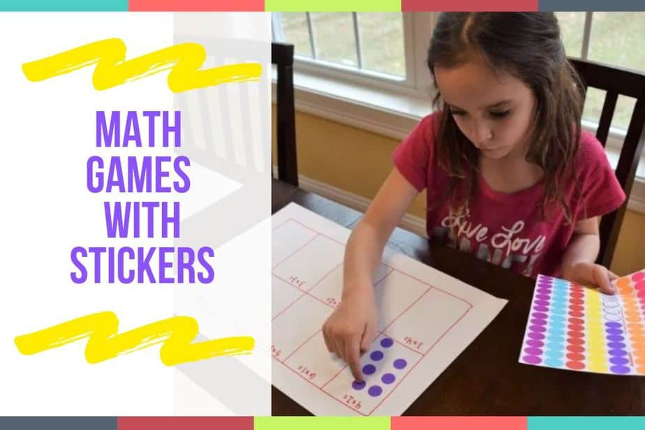 Math Games With Stickers