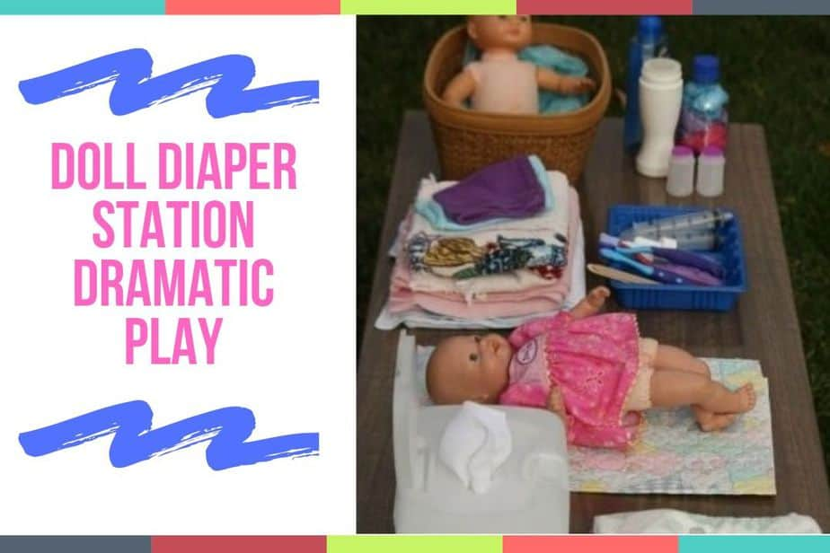 Doll Diaper Station Dramatic Play