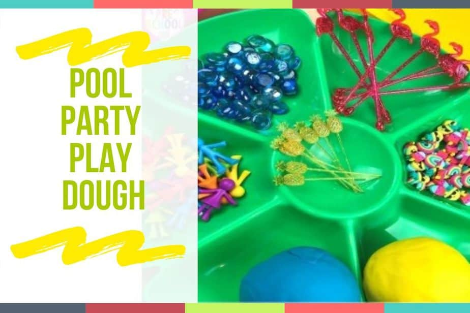 Pool Party Play Dough