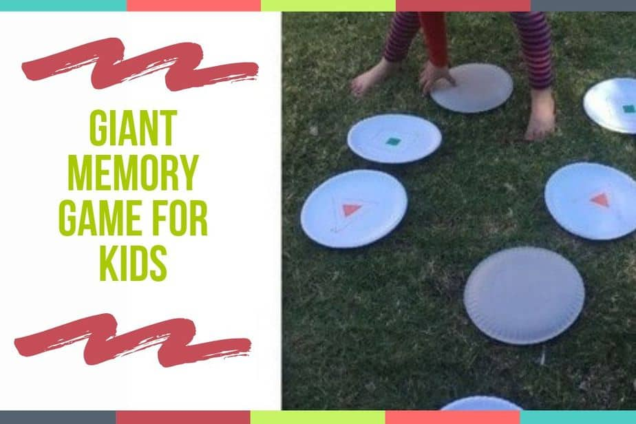 Giant Memory Game For Kids