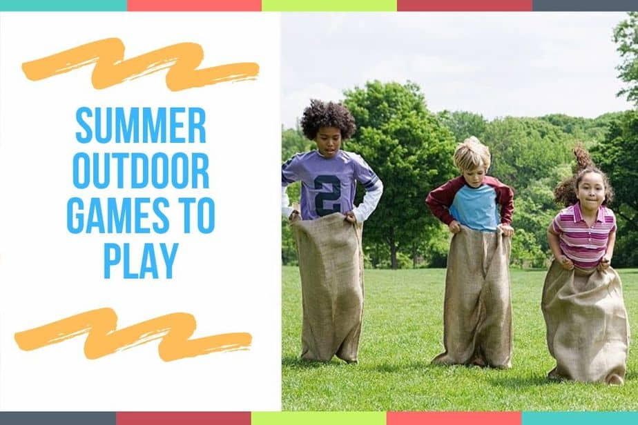 Summer Outdoor Games To Play