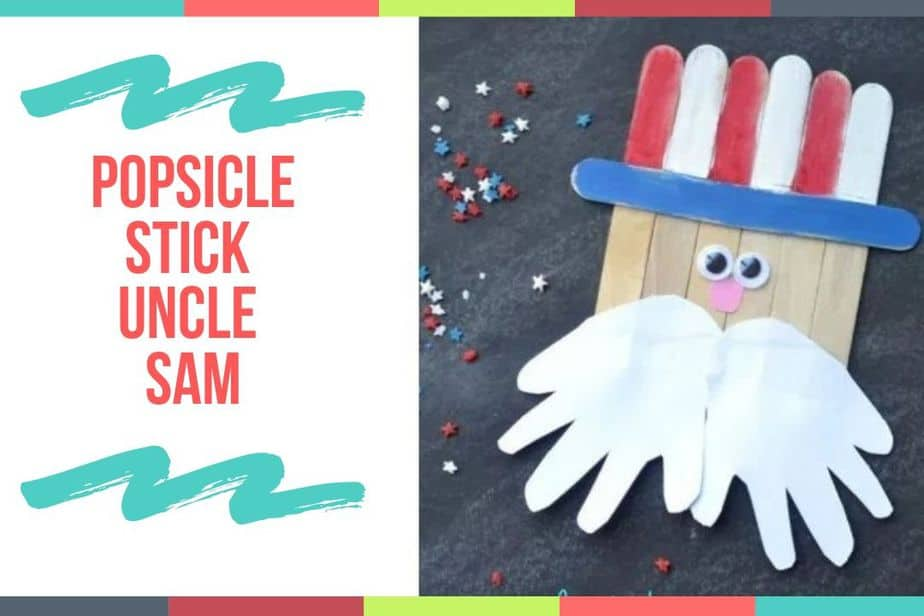 Popsicle Stick Uncle Sam