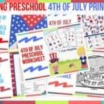 Trending Preschool 4th Of July Printables