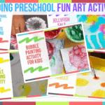 Trending Preschool Fun Art Activities
