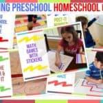 Trending Preschool Homeschool Games