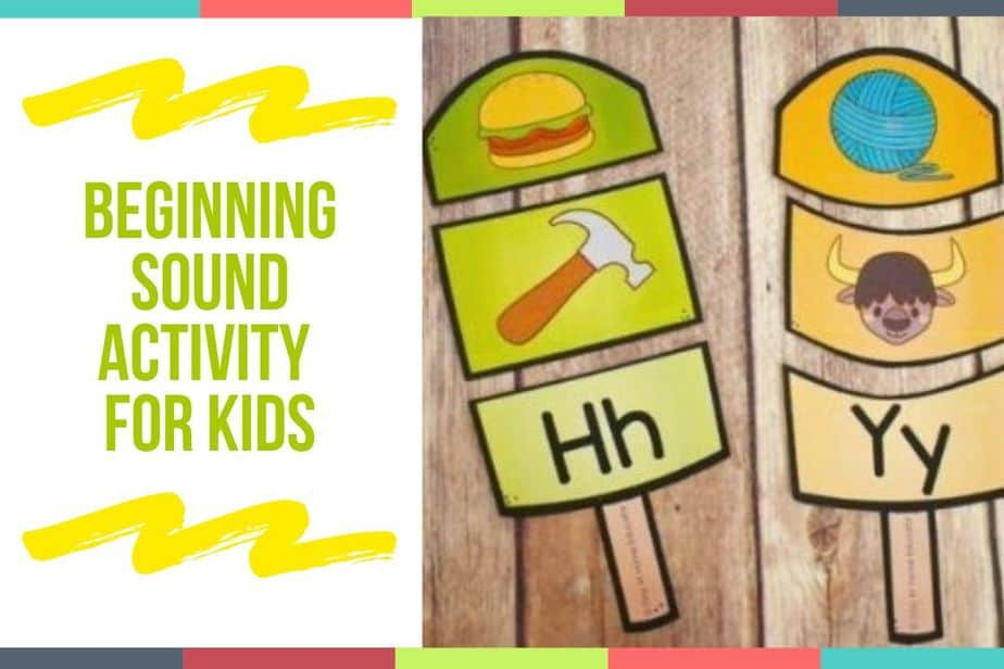 Beginning Sound Activity For Kids